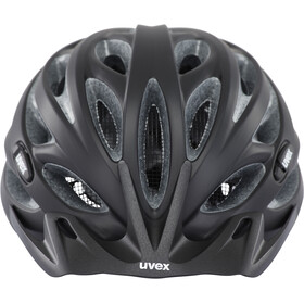UVEX Oversize Fietshelm, black mat-silver